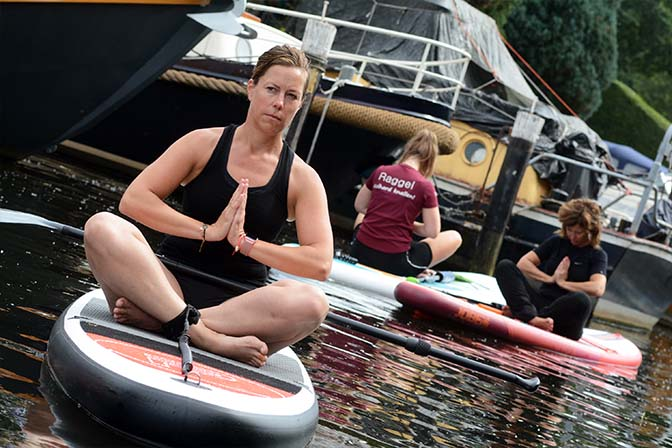 Yoga sup lessen Amersfoort Soest Leusden